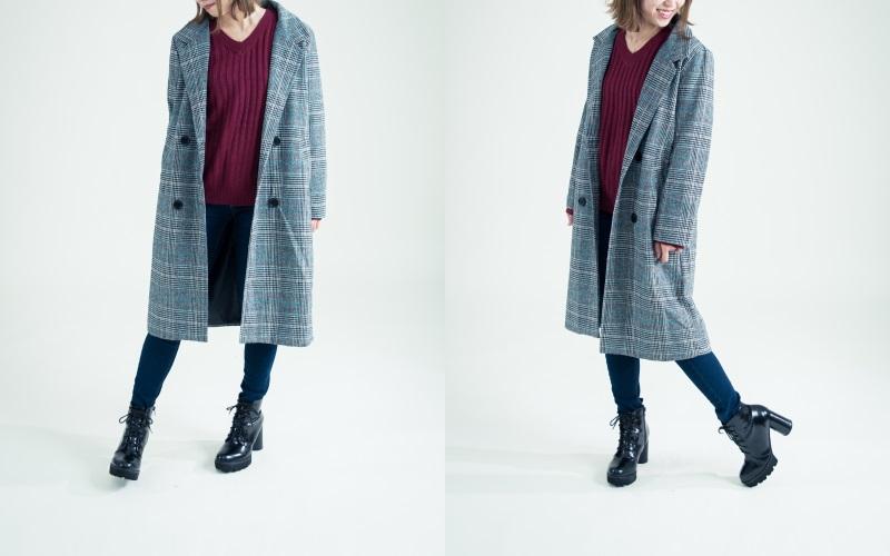 シンプルなデザイン、40代女性の基本はベーシックファッションでまとめる