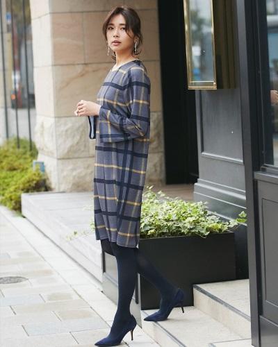 aca33881bdc7a 自分らしく楽しむ40代レディース服のチェック柄コーデ10選☆ - Stylewish