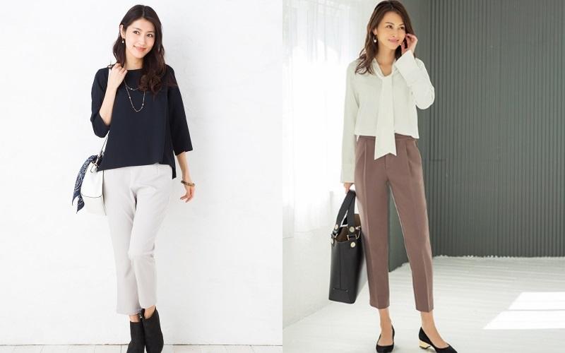 40代アラフォー女性の通勤ファッション・コーディネート