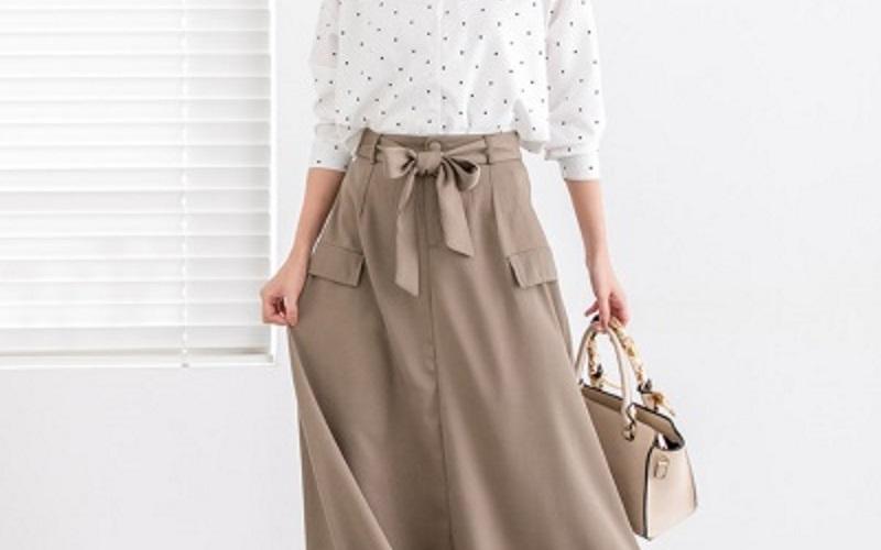お悩み別40代の難を隠す春スカート☆おすすめデザインとコーデ♡