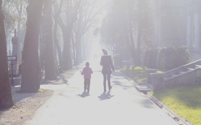 40代ママのおしゃれな「親子リンクコーデ」☆秋服は親子でトレンドライクに☆