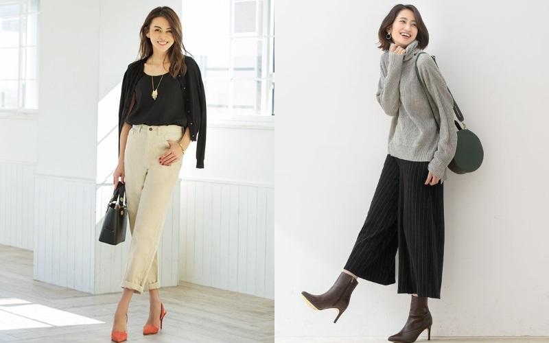 40代通勤服「本当に使える冬のパンツ、持ってますか?」選び方と着こなし方をチェック♪