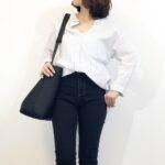 40代女性のオーバーサイズ服の使い方。ゆったり&体型カバーコーデ術